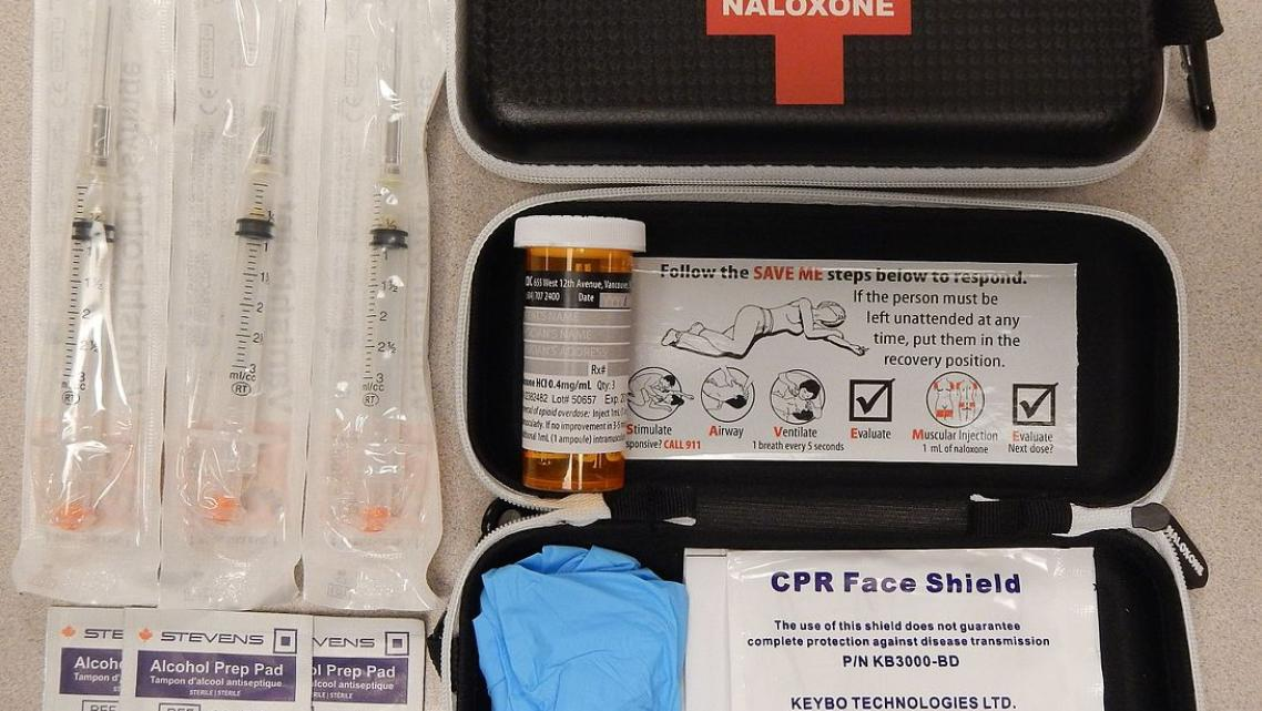 Naloxone kit. (Photo: James Heilman, MD)