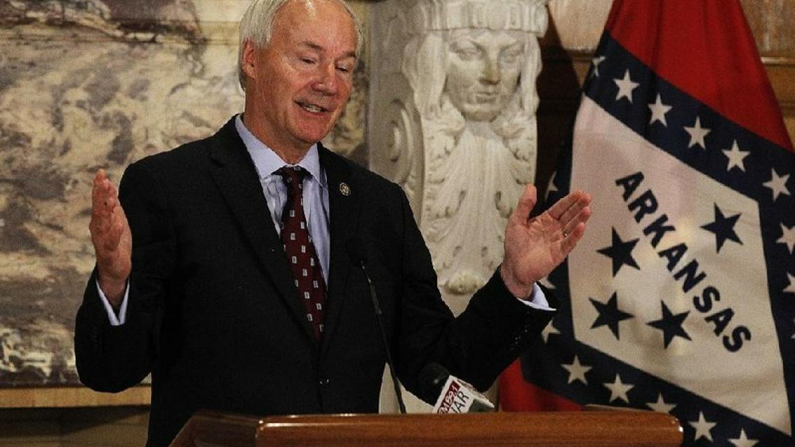 Gov. Asa Hutchinson is shown in this file photo.