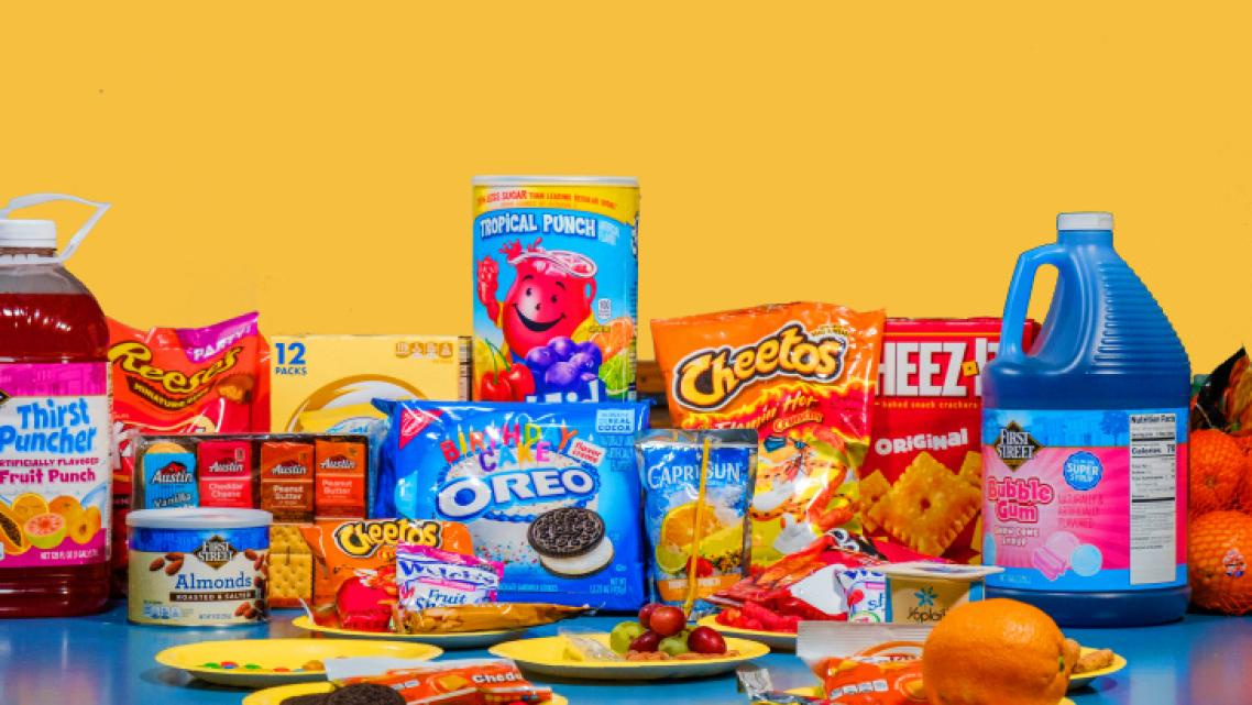 A sampling of snacks offered at various after school programs throughout Los Angeles.