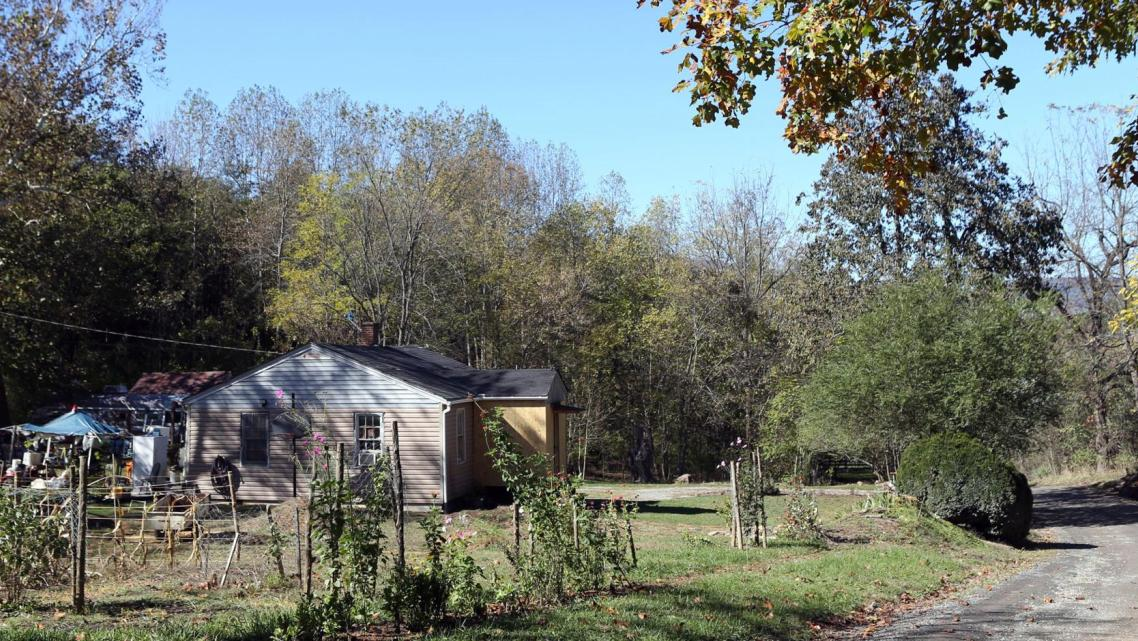 Charlee Marie Ford lived in this home on Alone Mill Road outside Lexington.