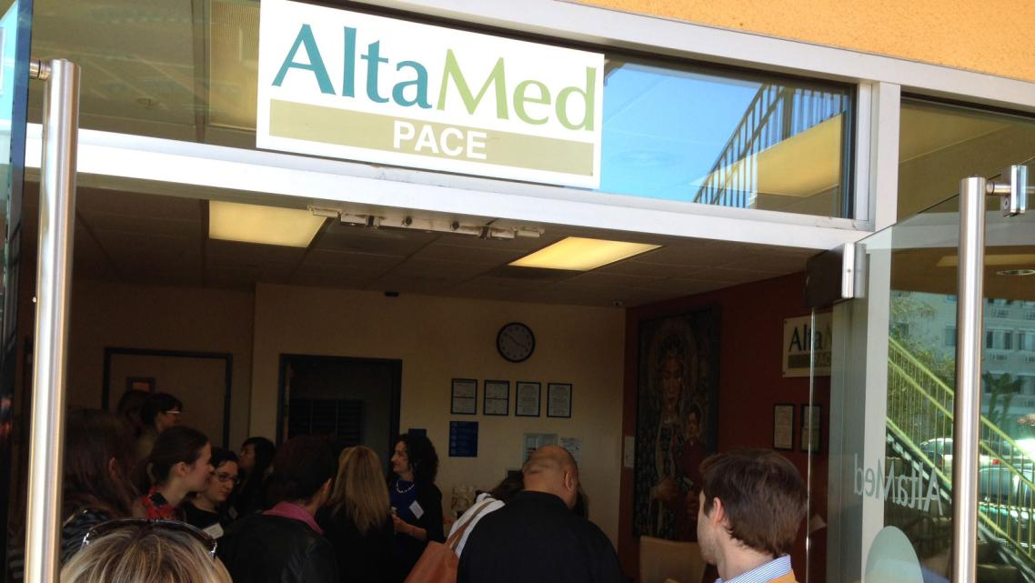 Image of entrance to AltaMed clinic