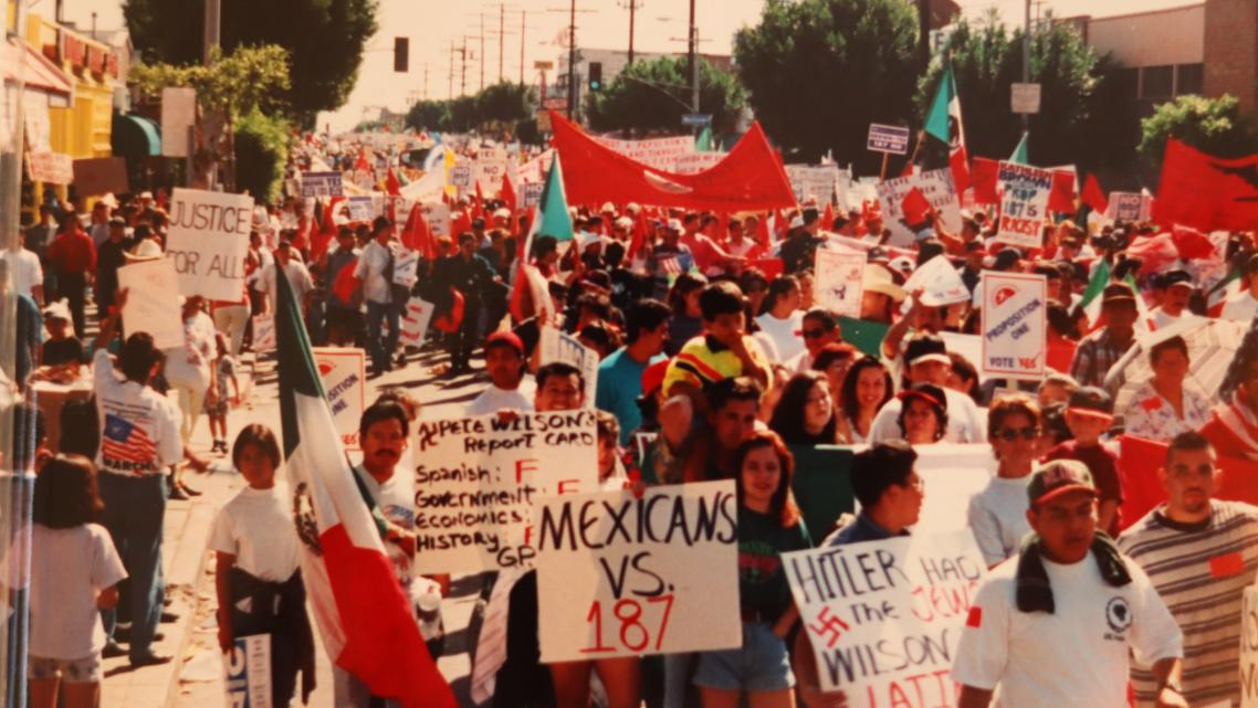 La Opinion Archive, from Union activist Cristina Vasquez