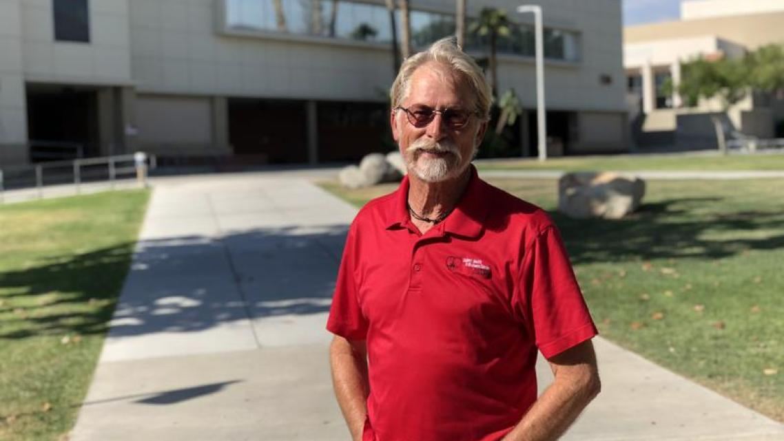 Ray Purcell used to work in private practice and hospitals, but today he's the director of Student Health at Bakersfield College