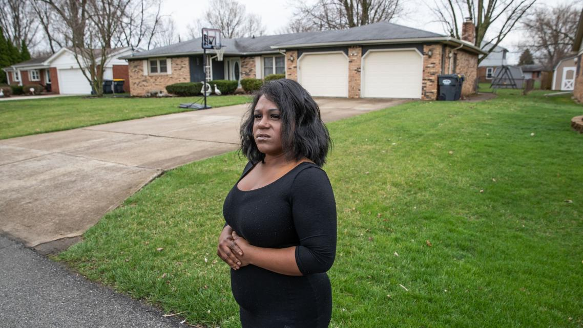 Ashley Peterson revisits the former home of Butch and Sandy Kimmerling in Anderson, Indiana.