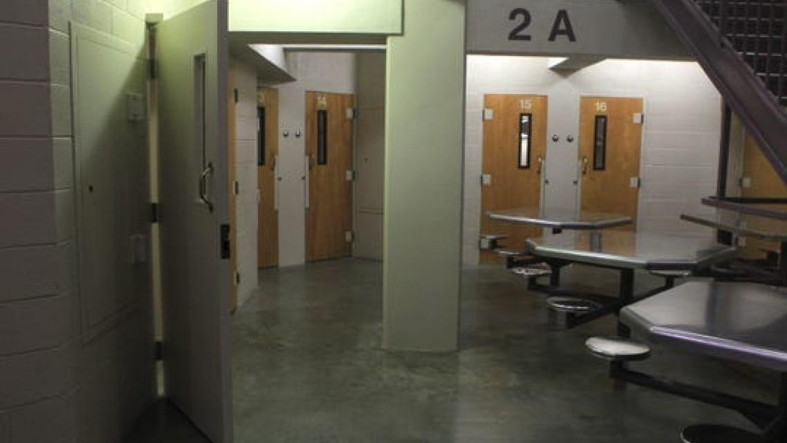 This file photo shows the inside of the Shasta County Jail.