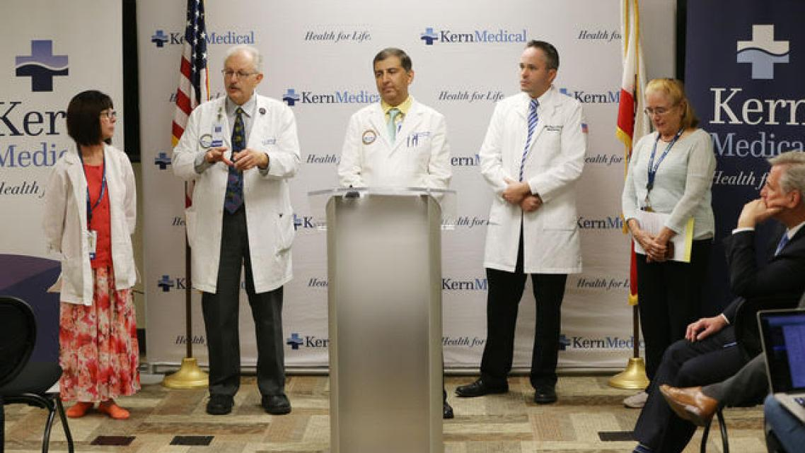 In 2016, a group of Kern Medical Center doctors and staff members introduced a clinical trial to study Fluconazole, a drug regul