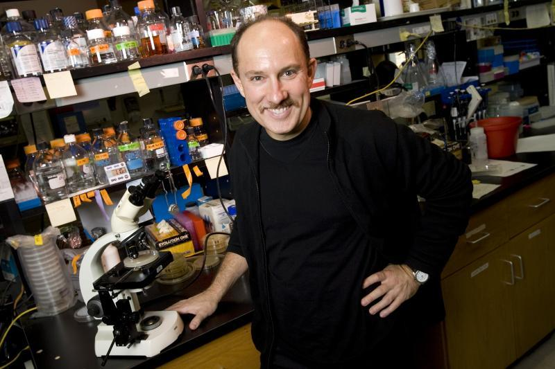 Photo credit: Duke University Dr. Joseph Heitman, James B. Duke Professor and Chair of the Department of Molecular Genetics and Microbiology, in his lab at Duke University Medical Center in 2006.
