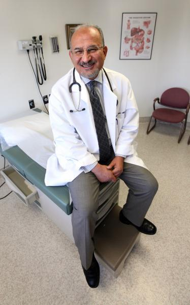 Dr. Yakdan Al Qaisi contracted a bad case of valley fever a few years ago.