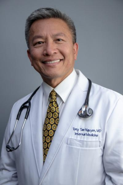 Dr. Tony Nguyen is the CEO of the Garden Grove-based practice 360 Healthcare, which delivers private medical services to patients' homes.(Courtesy of 360 Healthcare)