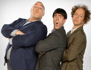 From official website of The Three Stooges - The Movie
