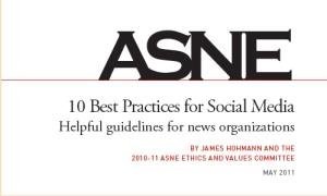 ASNE 10 Best Practices for Social Media