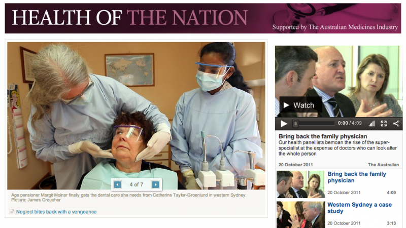 Health of the Nation banner