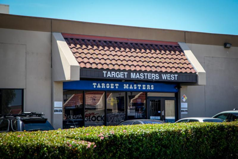 The main entrance of Target Masters West in Milpitas. (Barni Ahmed/Capital & Main)
