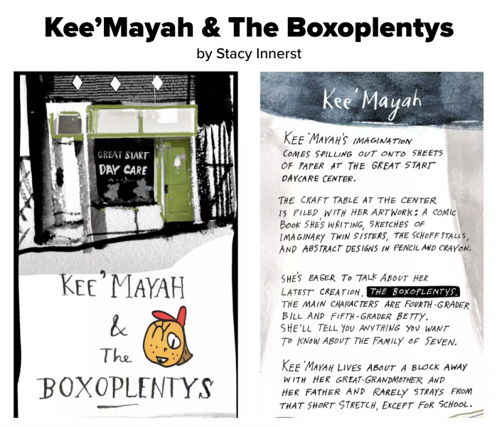 Lee'Mayah & The Boxoplentys (Stacy Innerst)