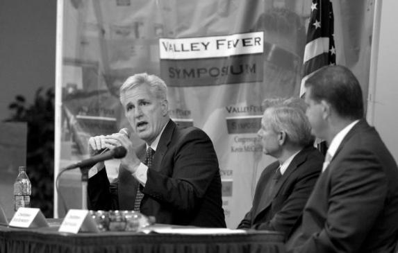 1: Rep. Kevin McCarthy, R-Bakersfield, leads a Congressional Valley Fever Task Force, which includes Rep. David Schweikert, R-Ar