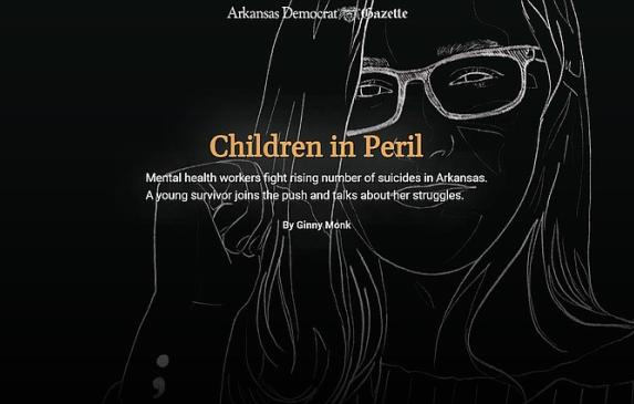 Children in Peril: Mental health workers fight rising number of suicides in Arkansas. A young survivor joins the push and talks
