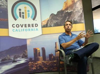 Peter Lee, executive director of Covered California, sat down with Vida en el Valle to talk about the health insurance exchange's first-year rollout. Vida en el Valle photo
