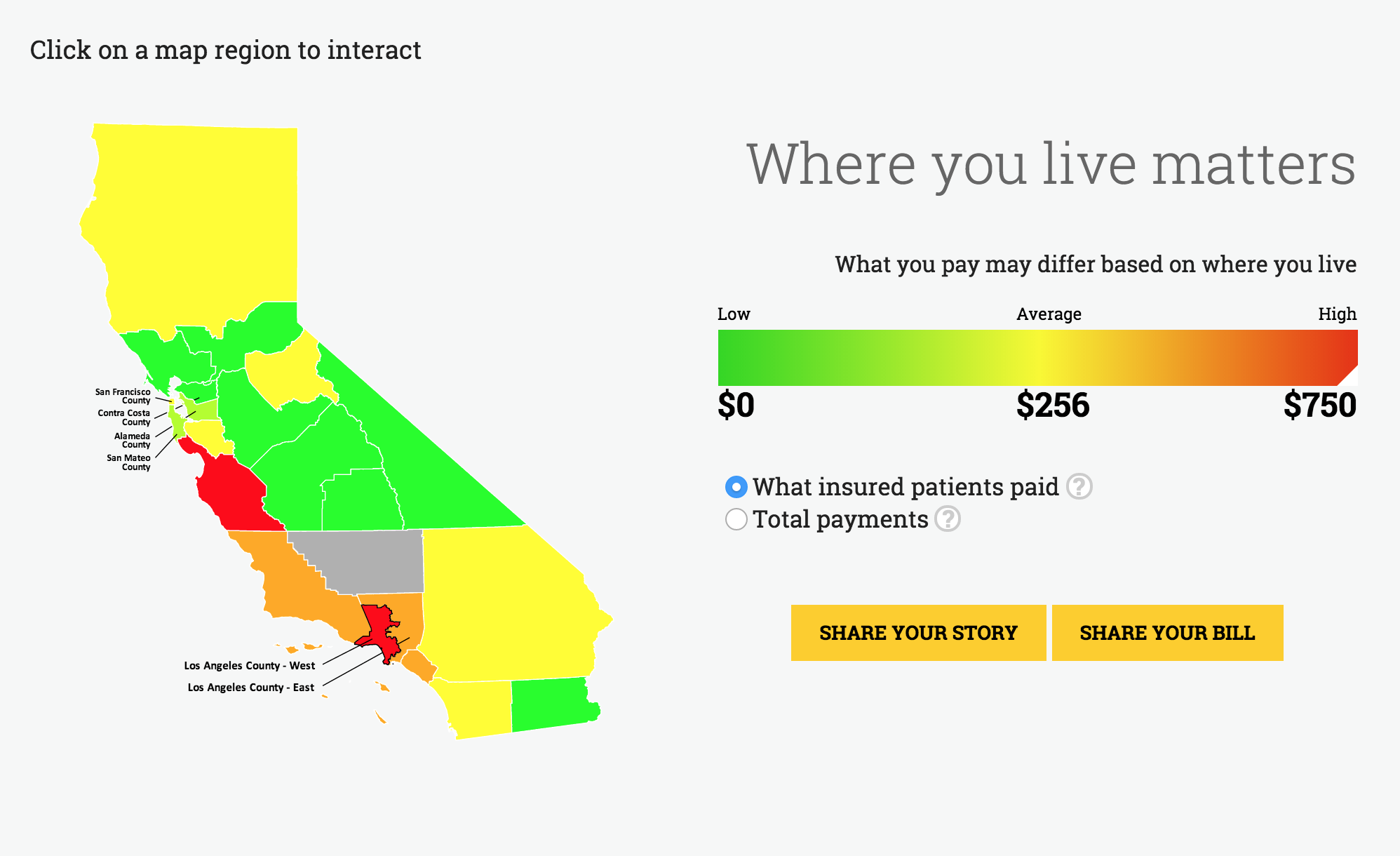 New California Site Comparing Health Care Costs And ...