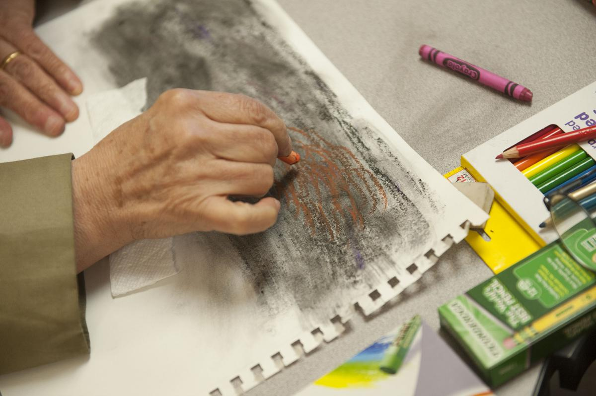 Anaheim Art Class Helps Erase Stigma Of Mental Illness In Arab