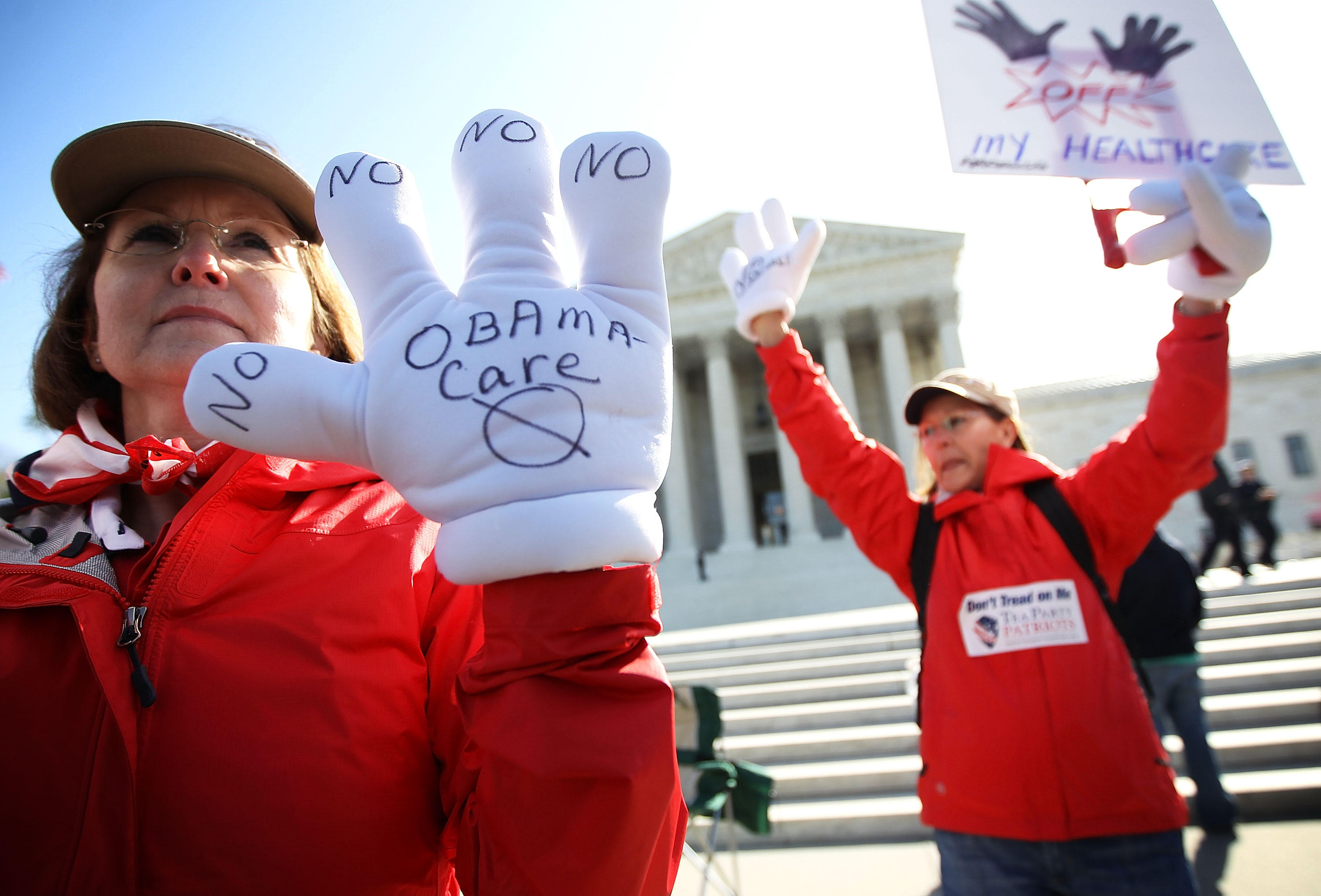 why obamacare s dream of an affordable health system is dead  photo alex wong getty images