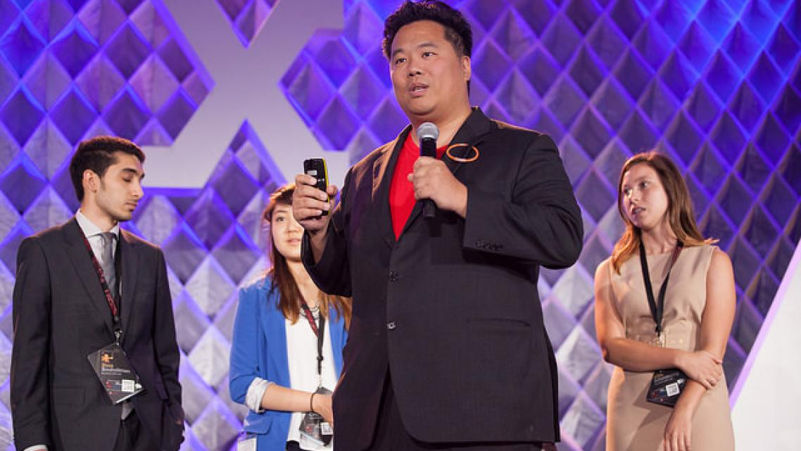 Dr. Larry Chu, the driving force behind Stanford's Medicine X conference. (Photo via MedX)