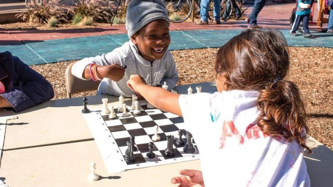 Richmond residents helped design and build the amenities at Elm Playlot, and created the programming for kids and adults. (Photo