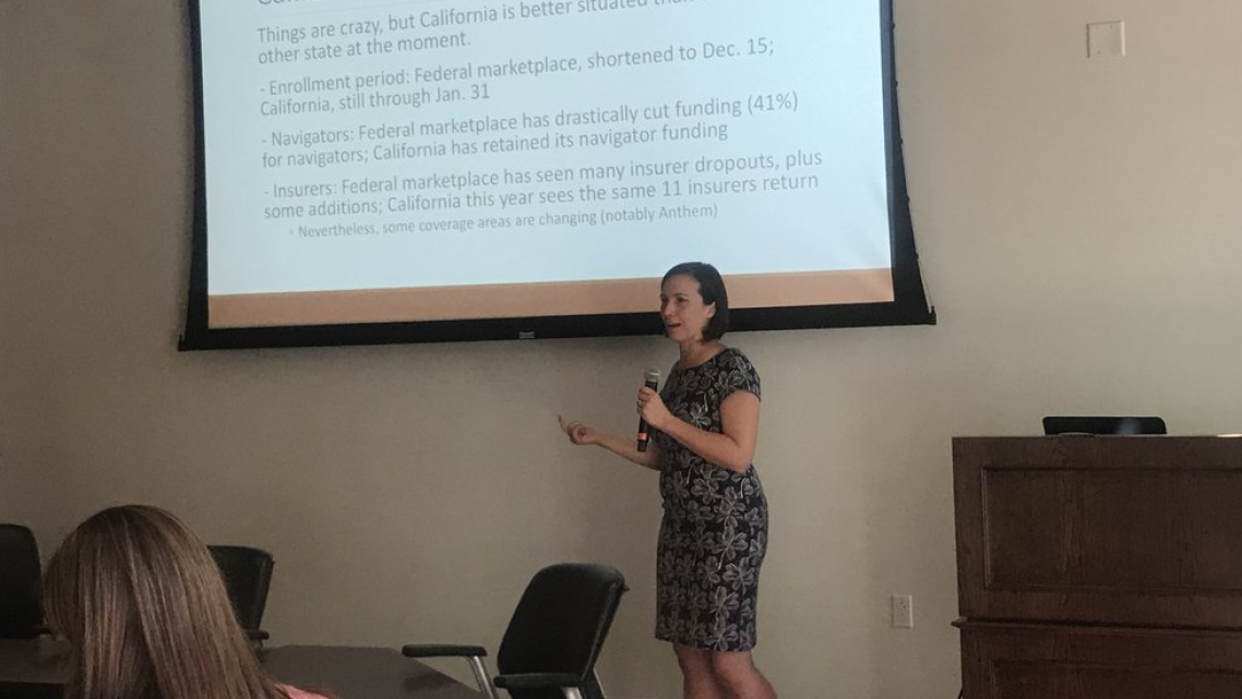 Meghan Hoyer talks about stories to track during the upcoming ACA open enrollment season.