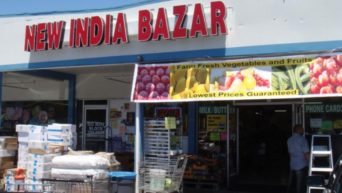 Grocery stores such as New India Bazaar and Trinethra provide staples and cultural lifelines for the South Bay's Indian communit