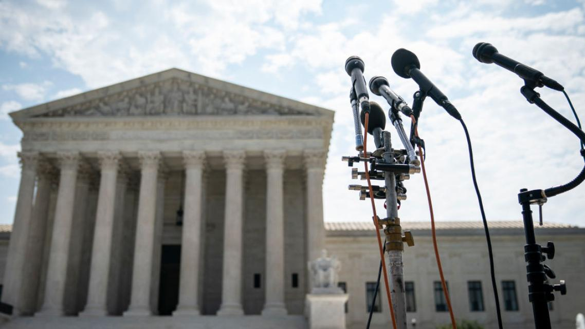The Supreme Court is hearing the latest legal challenge to the Affordable Care Act today.