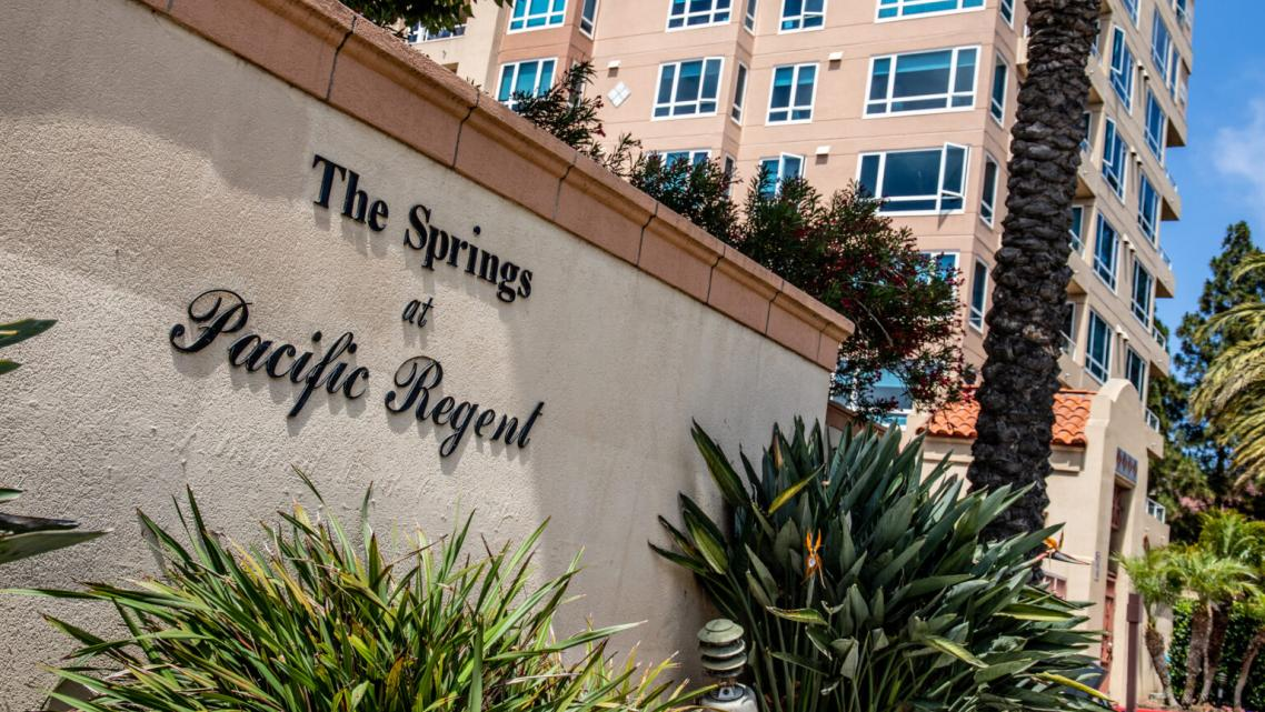 The Springs at Pacific Regent in La Jolla / Photo by Adriana Heldiz
