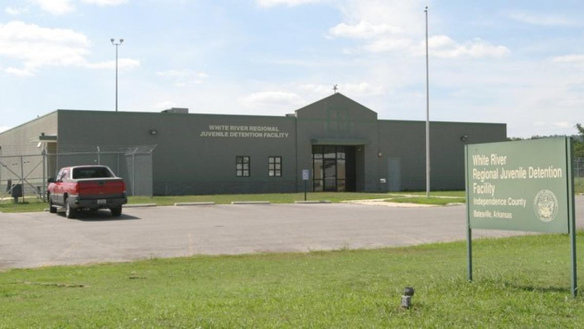 The White River Regional Juvenile Detention Center in Batesville is shown in this file photo.