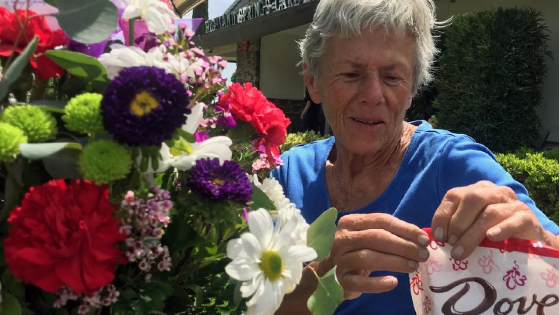 Karen Johnson, who had been a resident of Highland Springs Care Center in Beaumont, died of COVID-19 on April 19, making her the
