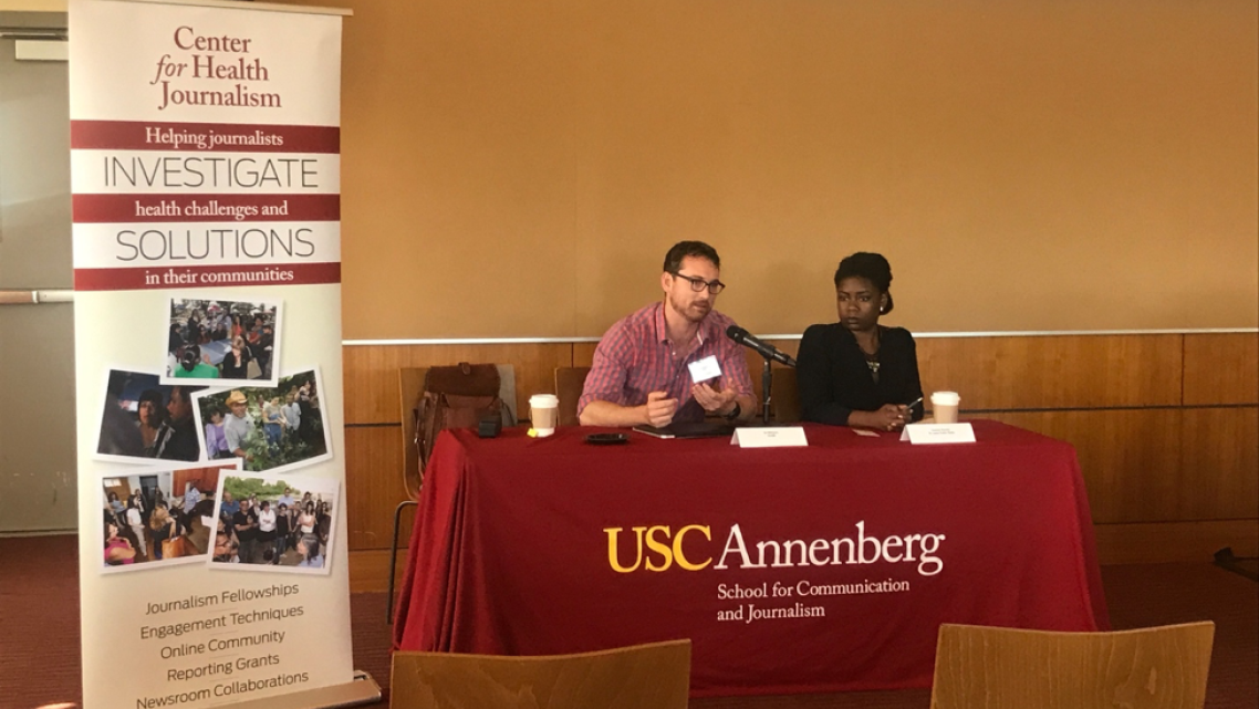 Edward Williams and Kameel Stanley discuss reporting ethics