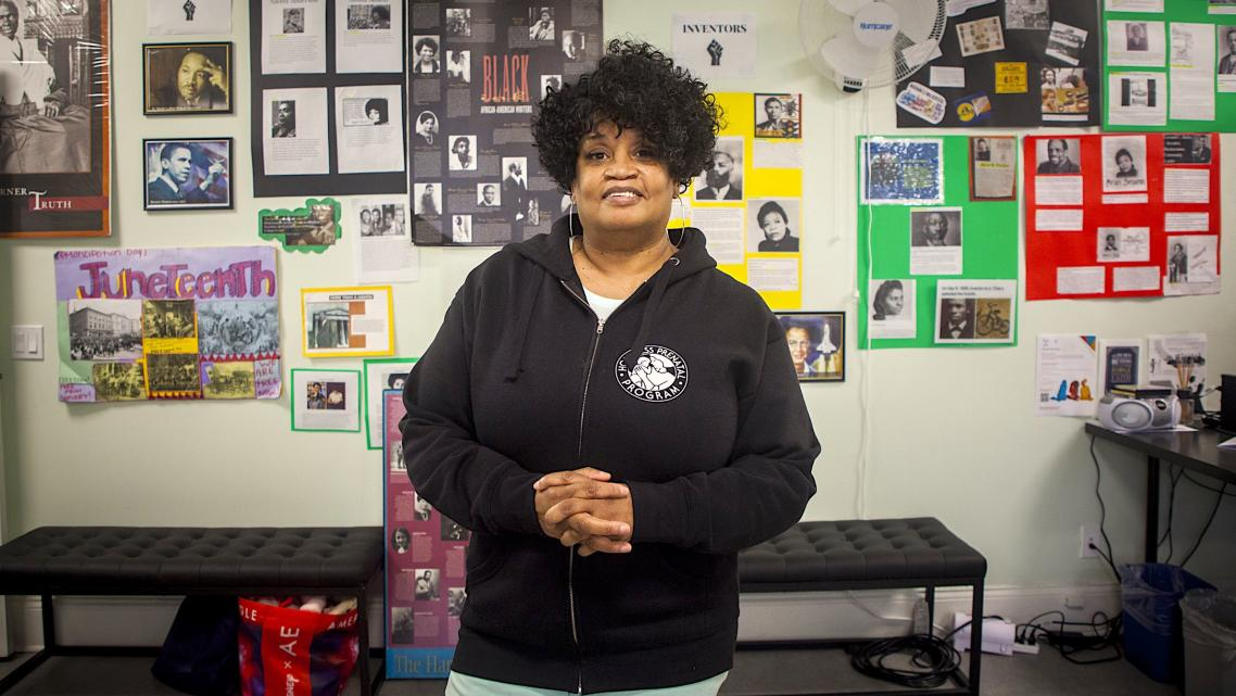 Monica Steptoe is director of Jelani House, a shelter for unhoused pregnant and postpartum mothers in the Bayview.