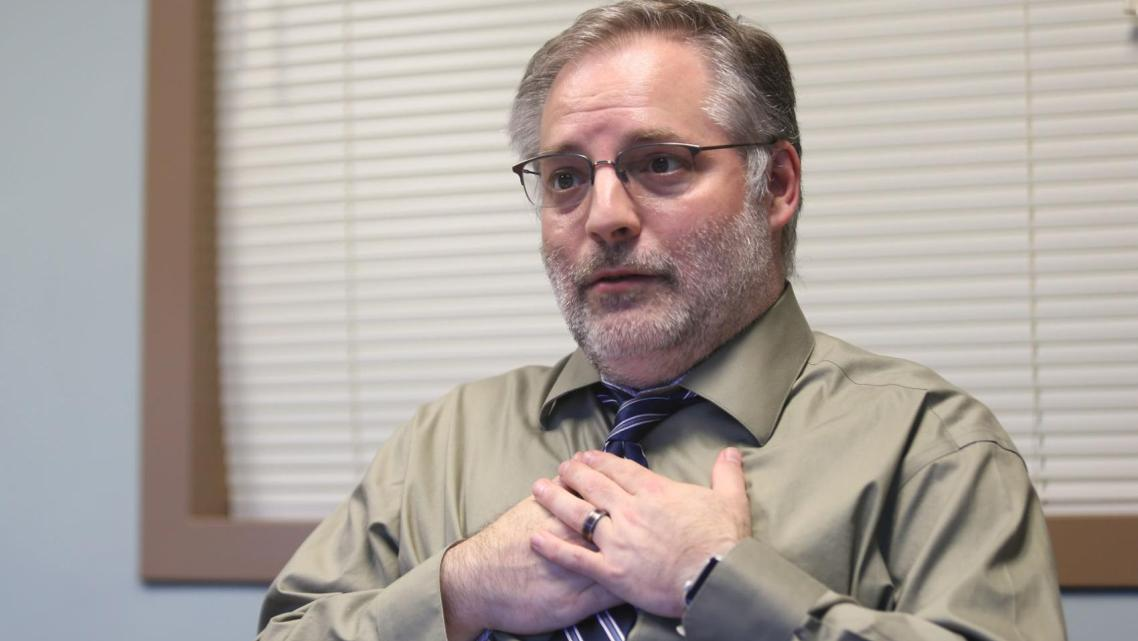 Ben Jones, foster care and adoptions supervisor with the Roanoke County Department of Social Services (seen in August 2019), say