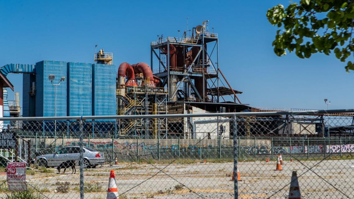 The AB&I Foundry in East Oakland