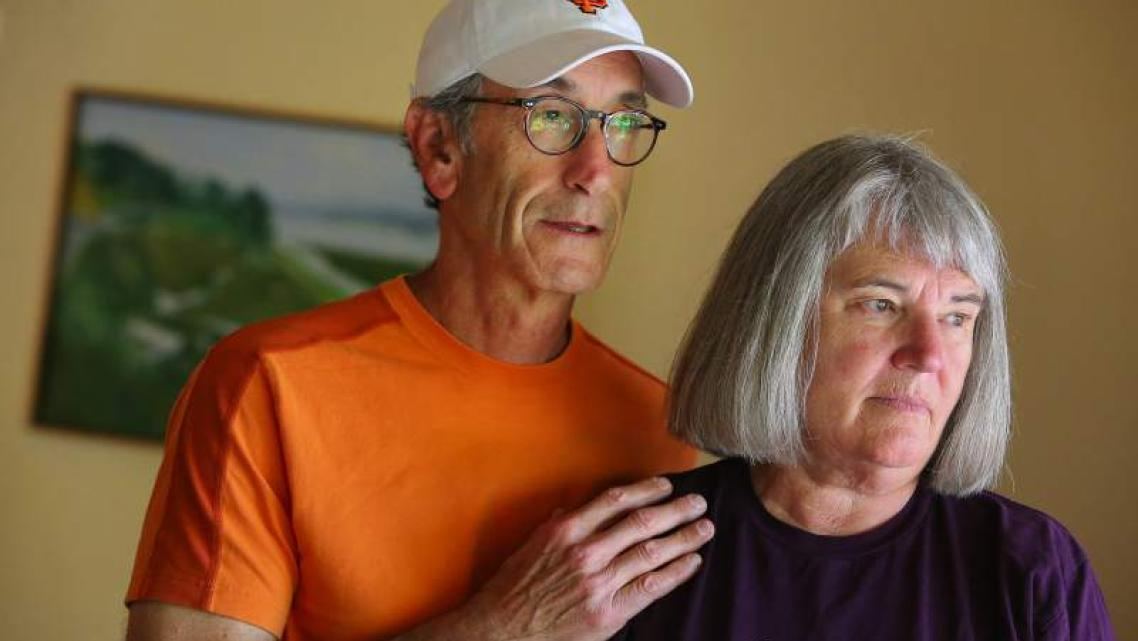 Barbara and Denny Bozman-Moss would like to see more treatment options for those with mental illness.