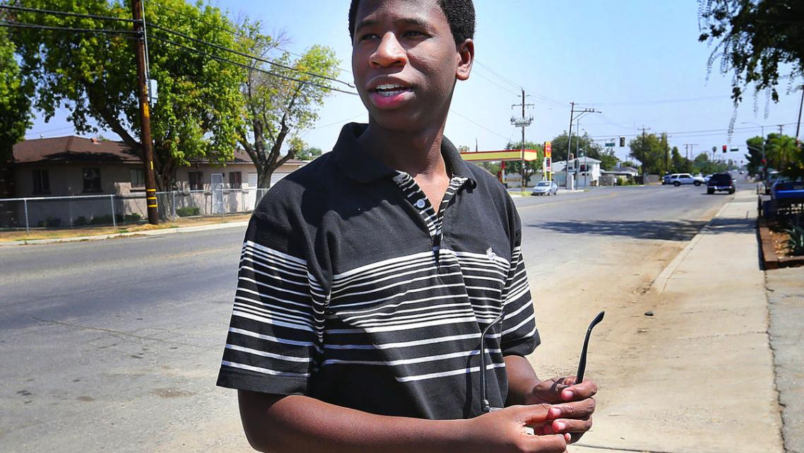 Isaiah Mosely came through the foster system. He is a model of resilience and overcoming. Henry A. Barrios/The Californian