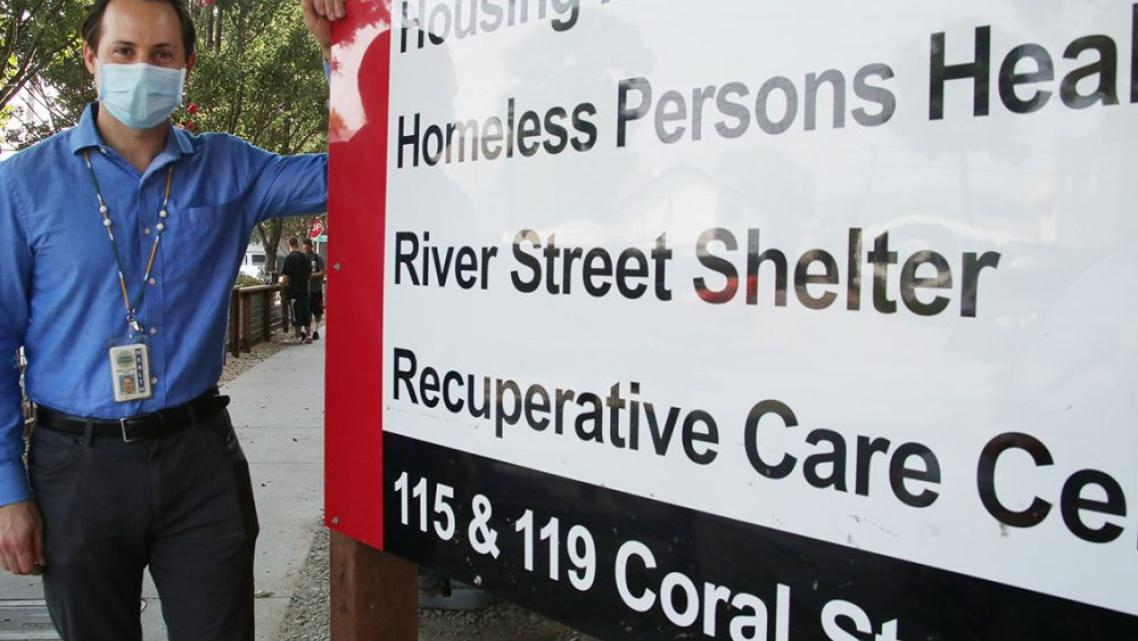 JOEY CROTTOGINI, THE HEALTH CENTER MANAGER FOR HOMELESS PERSON'S HEALTH PROJECT