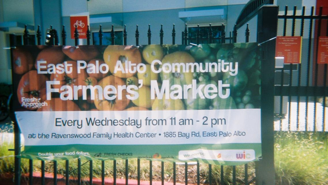 The East Palo Alto Farmers Market is held Wednesdays from 11 a.m. to 2 p.m.