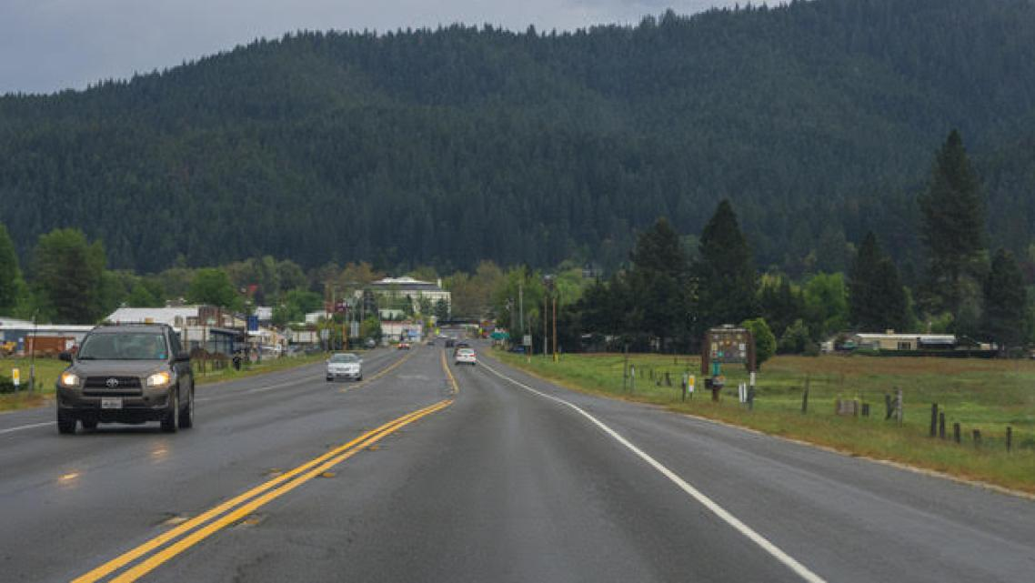 Quincy, the county seat of Plumas County, which has seen a dramatic decline in its opioid overdose rate.
