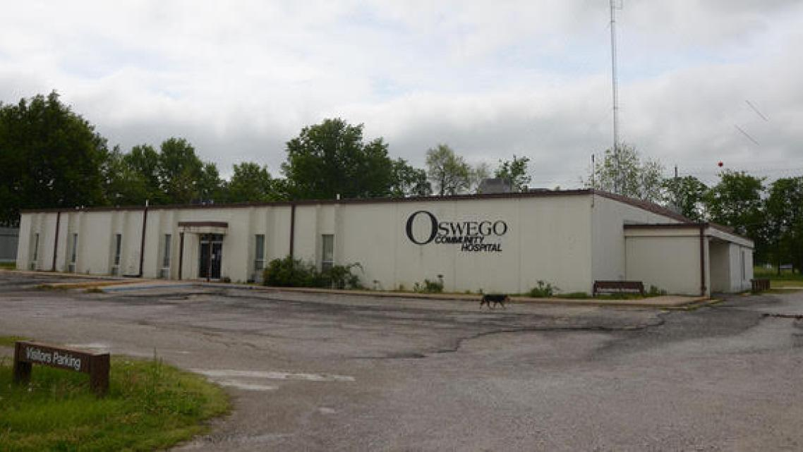 Oswego Community Hospital in southeast Kansas suddenly closed in February, prompting reporter Jonathan Riley of The Morning Sun
