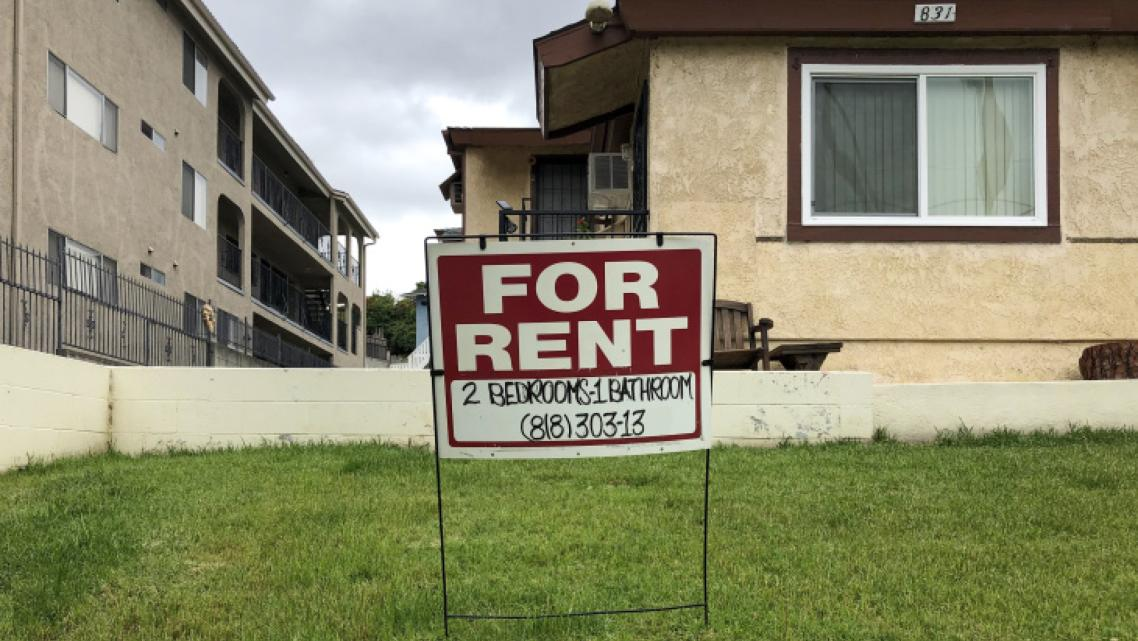 An apartment for rent in Central Los Angeles.