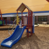 The playground at Hartsfield Elementary School in Tallahassee, FL