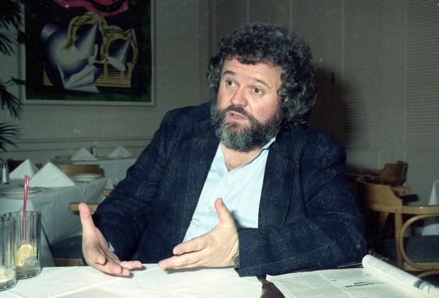 1990 file photo, director of photography Allen Daviau is seen in Los Angeles. Daviau died April 15 in Los Angeles. He was 77. (AP Photo/Julie Markes, File)