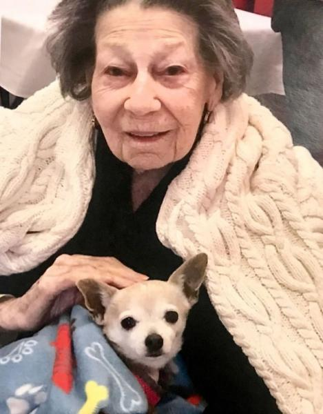 Leah Bernstein passed away on April 23rd. She was 99 years old. (Family courtesy photo)