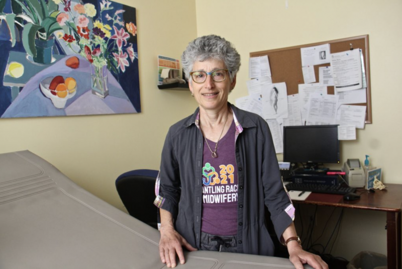 Julie Cristol, a midwife in Philadelphia for many years, leads Lifecycle WomanCare in Bryn Mawr. (Emma Lee/WHYY)