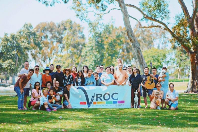 Viet Rainbow of Orange County supports the mental health of Vietnamese Americans with a diverse range of sexual orientations and gender identities.(Courtesy of VROC)