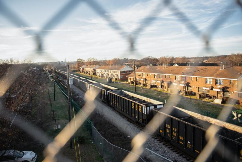 "Five decades ago, city planners noted that ""smoke, noise, and fumes from heavy industries and railroad operations and truck traffic permeate the area"" around the Collegeville Center. The same conditions exist today in North Birmingham, Ala. Photo: Andi Rice for The Intercept"
