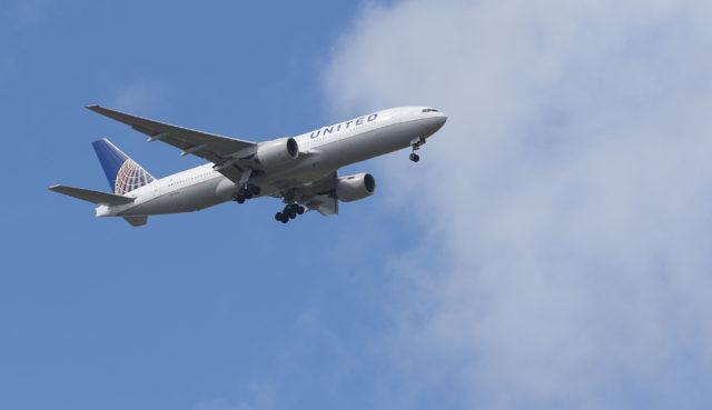 Each United flight from Honolulu to Guam carries a maximum of two deceased individuals.